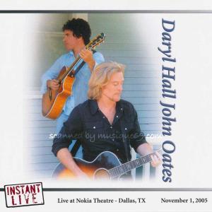 ダリルホールアンドジョンオーツ Daryl Hall & John Oates - Instant Live: Dallas, TX 11/01/2005 (CD)|musique69