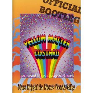 イエローマターカスタード Yellow Matter Custard - One Night in New York City (DVD)|musique69