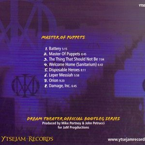 ドリームシアター Dream Theater - Official Bootleg: メタルマスター Master of Puppets (CD)|musique69|02