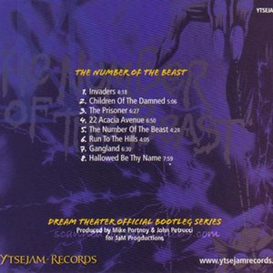 ドリームシアター Dream Theater - Official Bootleg: 魔力の刻印 The Number of the Beast (CD)|musique69|02
