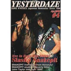 ガンズアンドローゼズ Guns N' Roses - Yesterdaze #4 (goods)|musique69