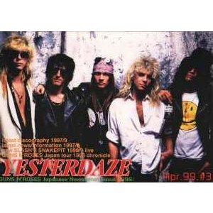 ガンズアンドローゼズ Guns N' Roses - Yesterdaze #3 (goods)|musique69