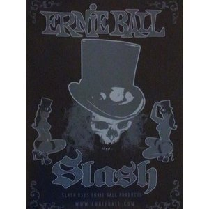 スラッシュ Slash - Ernie Ball Strings Promo Poster|musique69