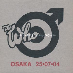ザ・フー The Who - Encore Series: Osaka, Japan 25/07/2004 (CD)|musique69