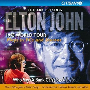 エルトンジョン Elton John - Citibank Presents Elton John 1998 World Tour (CD-Rom)|musique69