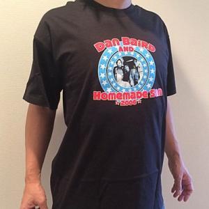 ダンベアード Dan Baird and Homemade Sin - European Tour 2006 Merchandise T-Shirt (goods)|musique69