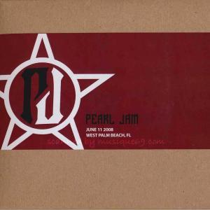 パールジャム Pearl Jam - North American Tour: West Palm Beach, FL 06/11/2008 (CD) musique69