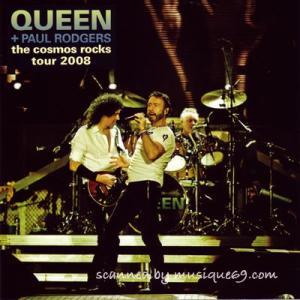 クイーン Queen + Paul Rodgers - The Cosmos Rocks Tour 2008: Limited Edition CDR (goods)|musique69