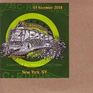 ブラッククロウズ The Black Crowes - BC Roadshows Acoustic Set: New York City, Ny 11/03/2008 (CD)|musique69