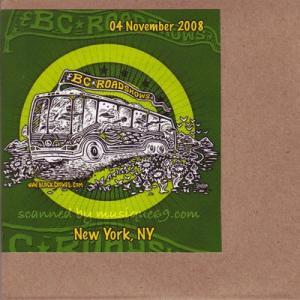 ブラッククロウズ The Black Crowes - BC Roadshows Acoustic Set: New York City, Ny 11/04/2008 (CD)|musique69