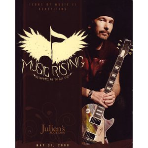 U2 (Various Artists) - Music Rising Presents Icons of Music 2 Catalogue (goods)|musique69
