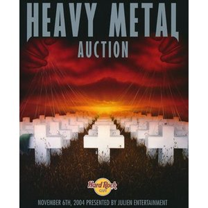 メタリカ Metallica (Various Artists) - Heavy Metal at the Hard Rock Auction Catalogue (goods)|musique69