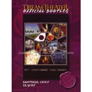 ドリームシアター Dream Theater - Official Bootleg: Santiago, Chile 12/06/2005 (DVD) musique69