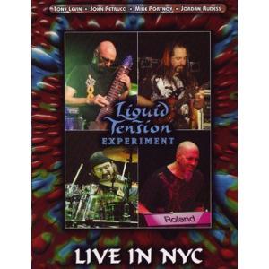 ドリームシアター Dream Theater (Liquid Tension Experiment) - Live in NYC (DVD)|musique69