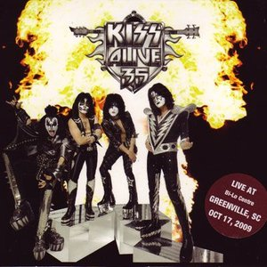 キッス Kiss - Alive 35 North American Tour: Greenville, Sc 10/17/2009 (CD)|musique69