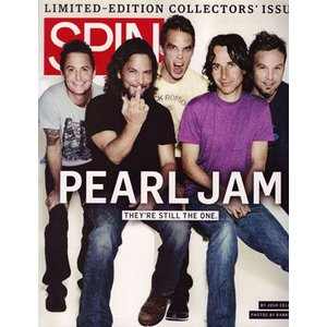 パールジャム Pearl Jam - Spin: Limited-Edition Collectors' Issue October 2009|musique69