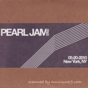 パールジャム Pearl Jam - 2010 Bootleg Series: New York City, Ny 05/20/2010 (CD)|musique69
