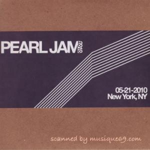 パールジャム Pearl Jam - 2010 Bootleg Series: New York City, Ny 05/21/2010 (CD)|musique69