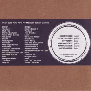 パールジャム Pearl Jam - 2010 Bootleg Series: New York City, Ny 05/21/2010 (CD)|musique69|02