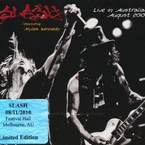 スラッシュ Slash feat. Myles Kennedy - Live in Australia: Melbourne 08/11/2010 (CD)|musique69