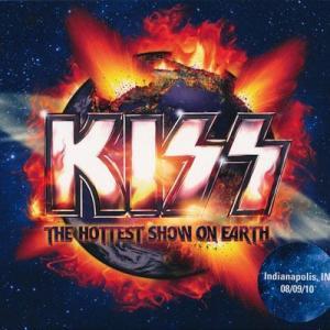 キッス Kiss - The Hottest Show on Earth: Fontana, Ca 09/25/2010 (CD)|musique69