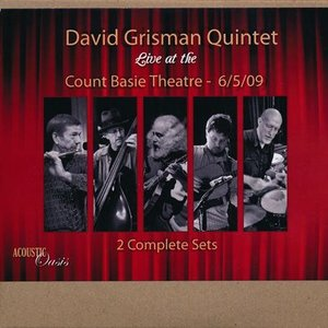 デヴィッドグリスマンクインテット David Grisman Quintet - Live at the Count Basie Theatre 06/05/2009 (CD)|musique69