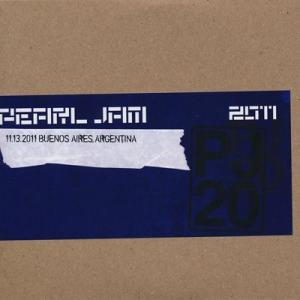 パールジャム Pearl Jam - 2011 Bootleg Series: Buenos Aires, Argentina 11/13 (CD)|musique69