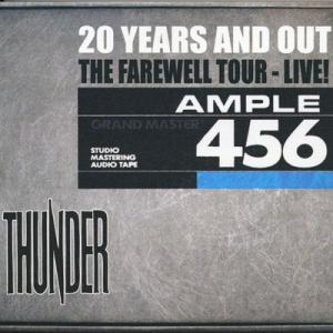 サンダー Thunder - 20 Years and Out The Farewell Tour Live: London 11/07/2009 (CD) musique69