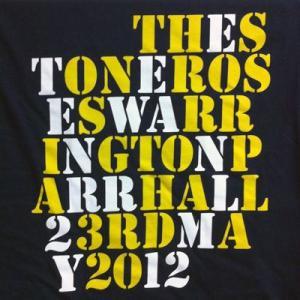 ストーンローゼス Stone Roses - Parr Hall, Warrington, England 23/05/2012 Event T-shirt: M-size (goods)|musique69
