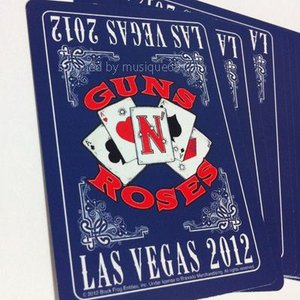 ガンズアンドローゼズ Guns N' Roses - Appetite for Democracy Las Vegas Residency 2012: Playing Cards|musique69