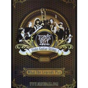 オムニバス Various Artists - What the Legends Play: Ernie Ball Slinky Guitar Strings Promo Poster|musique69