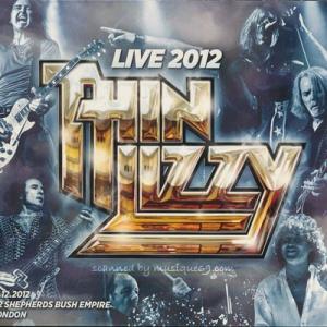 シンリジィ Thin Lizzy - Live 2012: London, England 17/12/2012 (CD)|musique69