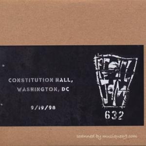 パールジャム Pearl Jam - Vault Series #3: Washington, DC 09/19/1998 (CD)|musique69