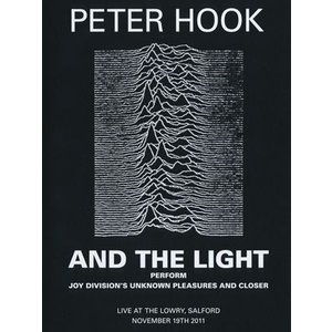 ピーターフック Peter Hook and The Light - Perform Joy Divisions Unknown Pleasures and Closer (DVD)|musique69