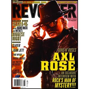 ガンズアンドローゼズ Guns N' Roses - Revolver Magazine #115: June/ July 2014 issue: Golden Gods Edition (goods)|musique69