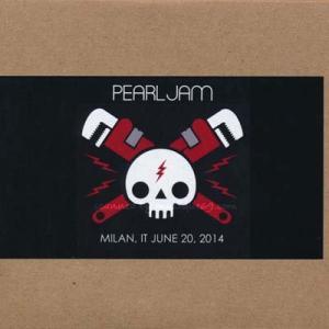 パールジャム Pearl Jam - European Tour: Milan, Italy 20/06/2014 (CD)|musique69