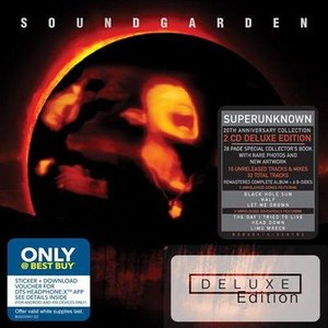 サウンドガーデン Soundgarden - Superunknown Deluxe Edition: Exclusive Version (CD)|musique69