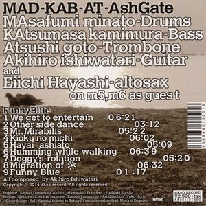 MAD-KAB at AshGate - Funny Blue (CD)|musique69|02