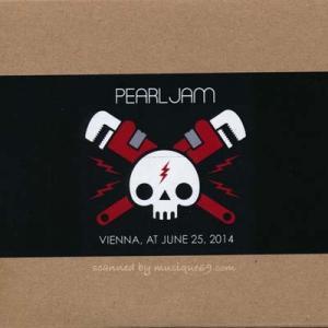 パールジャム Pearl Jam - European Tour: Vienna, Austria 25/06/2014 (CD)|musique69