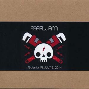 パールジャム Pearl Jam - European Tour: Gdynia, Poland 03/07/2014 (CD)|musique69