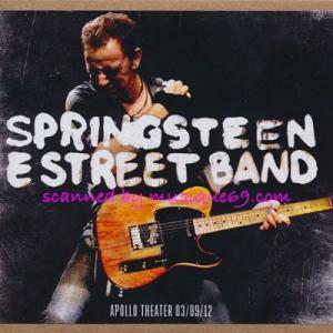ブルーススプリングスティーン Bruce Springsteen & The E Street Band - Apollo Theater 03/09/2012 (CD)|musique69