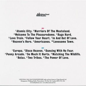 フランキーゴーズトゥハリウッド Frankie Goes to Hollywood (Holly Johnson) - Unleashed from the Pleasuredome (CD)|musique69|02