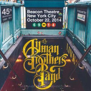 オールマンブラザーズバンド The Allman Brothers Band - Beacon Theatre, New York City 10/22/2014 (CD)|musique69