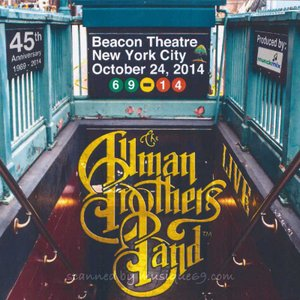 オールマンブラザーズバンド The Allman Brothers Band - Beacon Theatre, New York City 10/24/2014 (CD)|musique69
