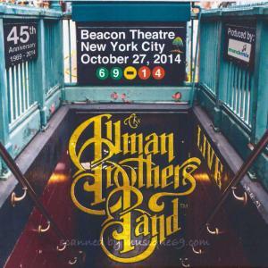 オールマンブラザーズバンド The Allman Brothers Band - Beacon Theatre, New York City 10/27/2014 (CD)|musique69