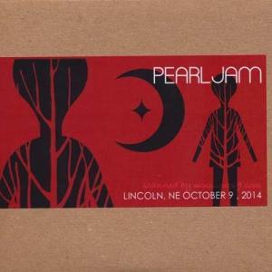 パールジャム Pearl Jam - North American Tour: Lincoln, NE 10/09/2014 (CD)|musique69