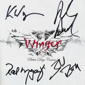 ウィンガー Winger - Better Days Comin': Exclusive Autographed Edition (CD)|musique69
