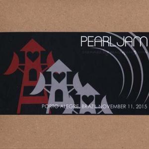 パールジャム Pearl Jam - South American Tour: Porto Alegre, Brazil 11/11/2015 (CD) musique69