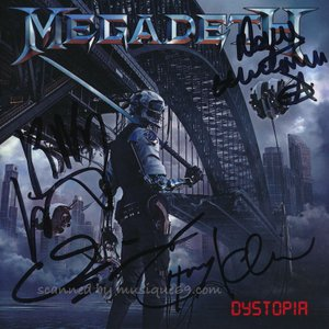 メガデス Megadeth - Dystopia: Exclusive Autographed Edition (CD)|musique69