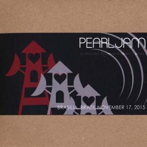 パールジャム Pearl Jam - South American Tour: Brasilia, Brazil 11/17/2015 (CD)|musique69